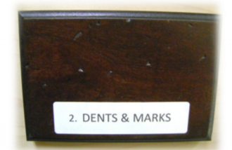 dents and marks distressing element