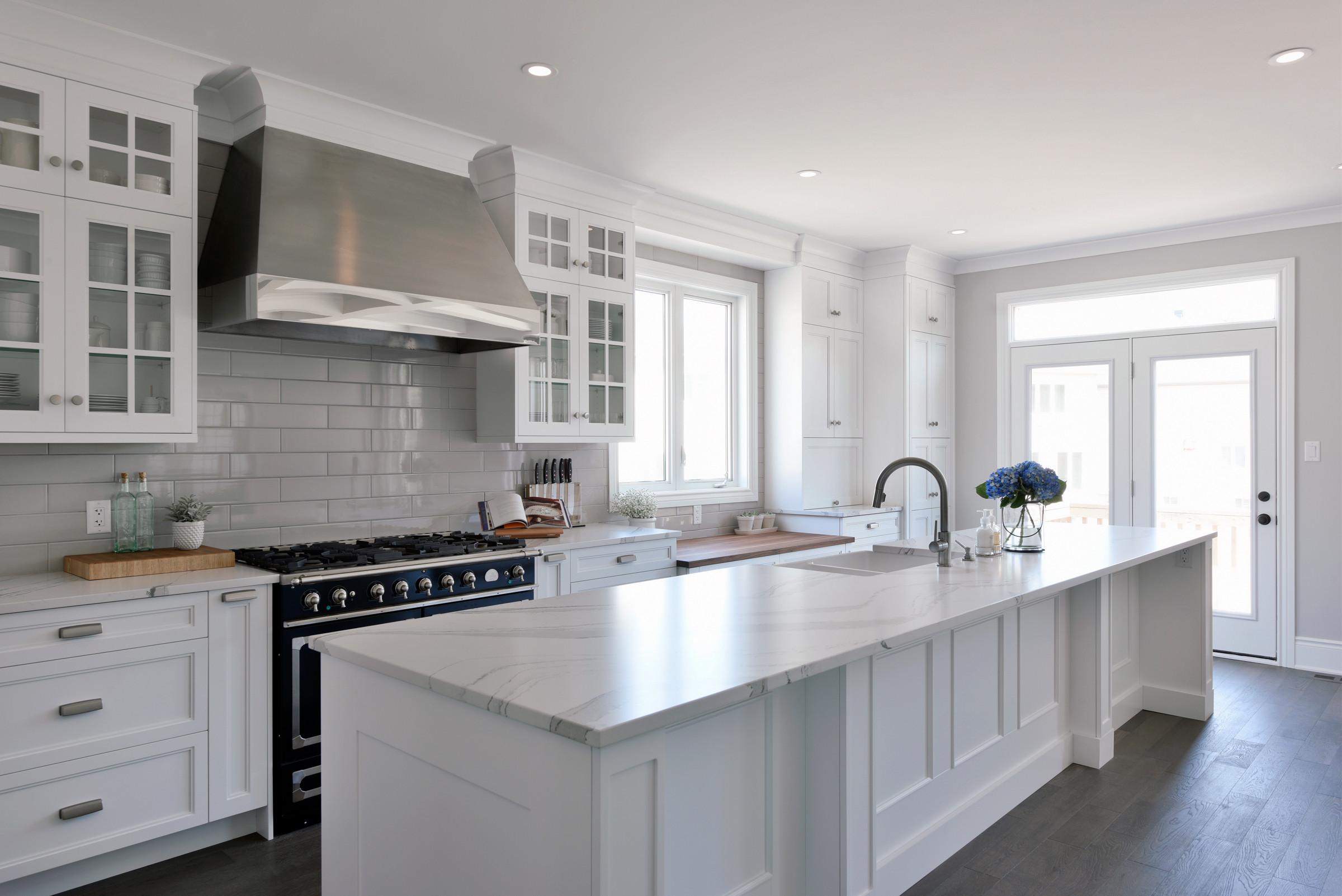 A kitchen installation by Deslaurier.