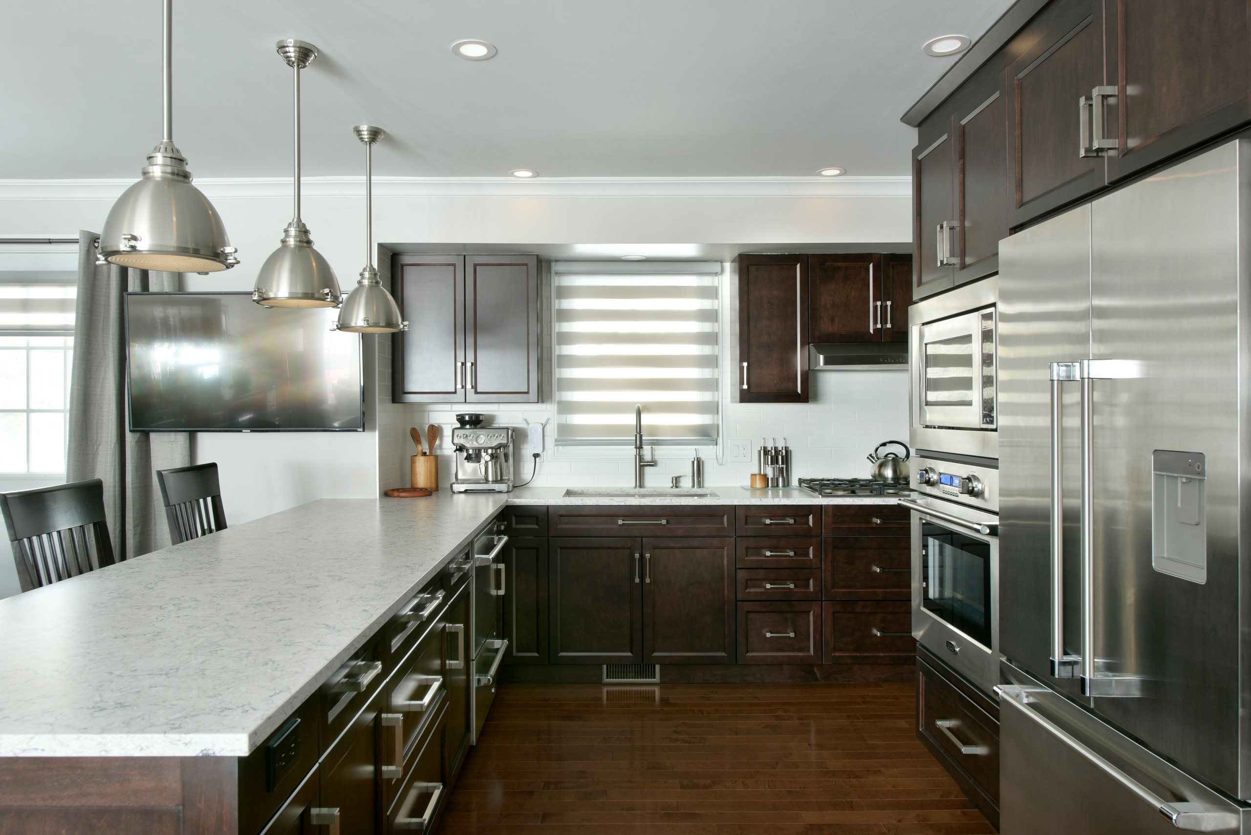 A freshly renovated kitchen by Deslaurier
