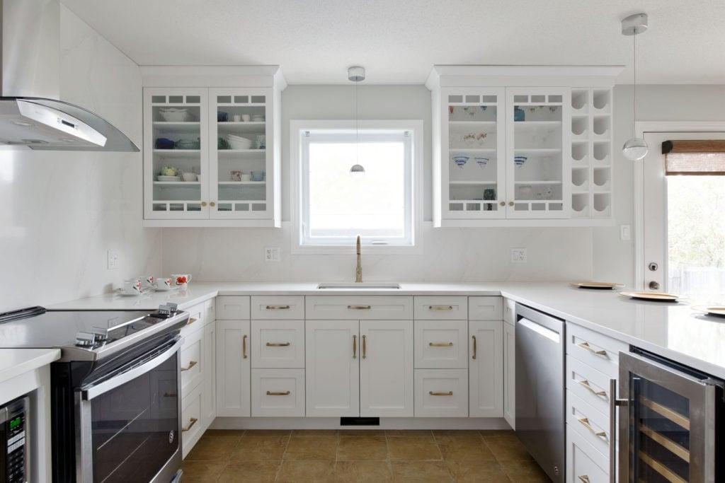 A kitchen design by Ottawa's Deslaurier Custom Cabinets