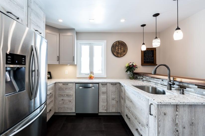 A Deslaurier custom kitchen.