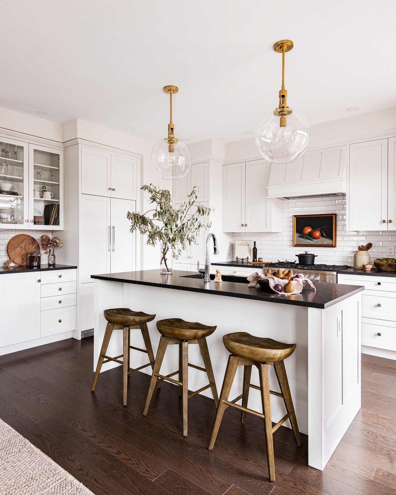 A custom kitchen design by Deslaurier
