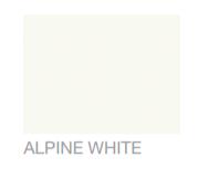 Alpine White paint colour
