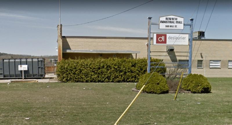 Deslaurier's manufacturing plant in Renfrew, ON.