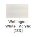 Wellington white paint colour