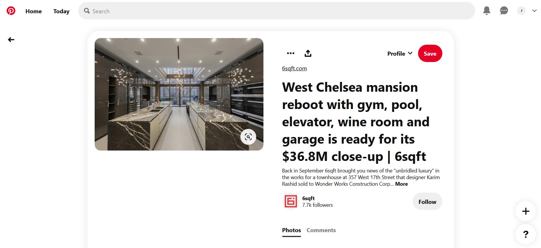 A luxurious kitchen on Pinterest
